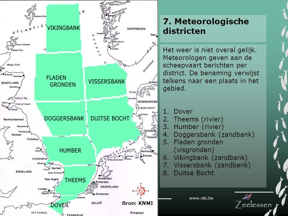 7. Meteorologische districten