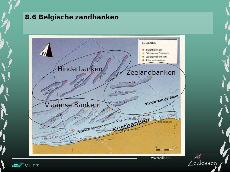 8.6 Belgische zandbanken Hinderbanken Zeelandbanken Vlaamse Banken