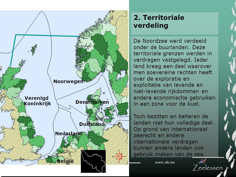 2. Territoriale verdeling