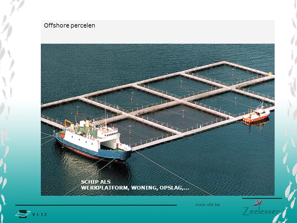 Offshore percelen Bron: http://www.marineconstruction.com SCHIP ALS