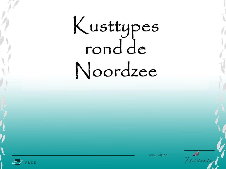 Kusttypes rond de Noordzee