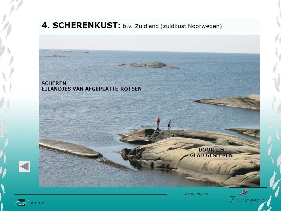 4. SCHERENKUST: b.v. Zuidland (zuidkust Noorwegen)