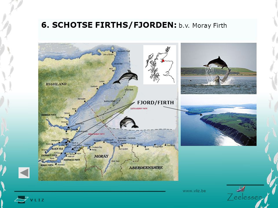6. SCHOTSE FIRTHS/FJORDEN: b.v. Moray Firth