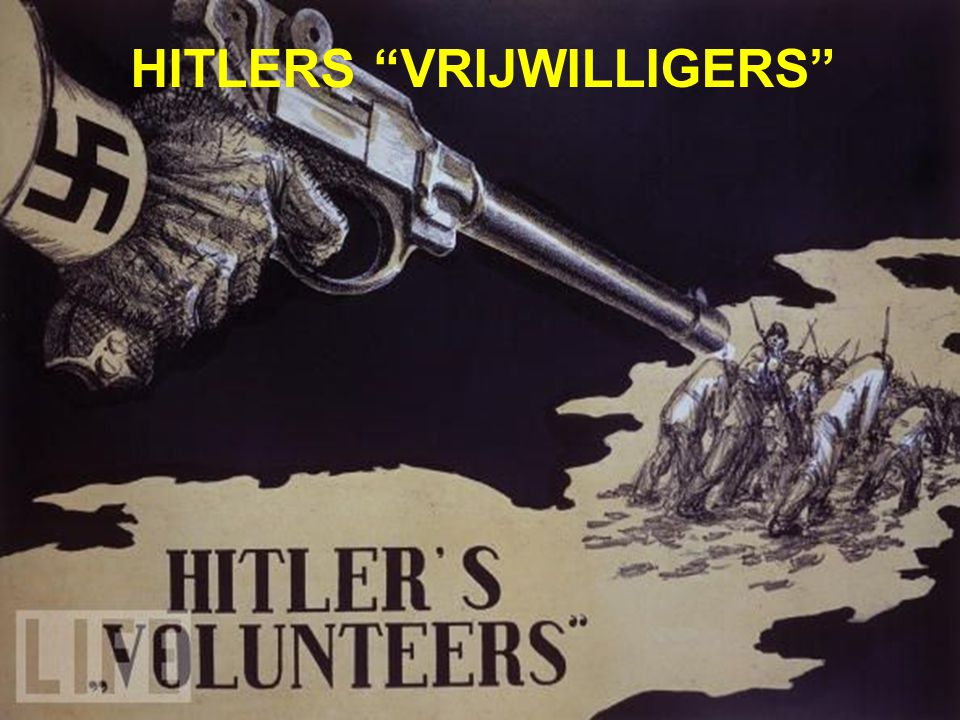 HITLERS VRIJWILLIGERS