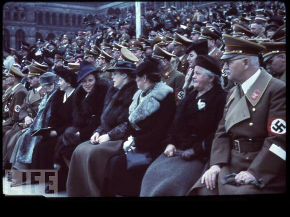 VIPs at Hitler s 50th Birthday Celebration, 1939