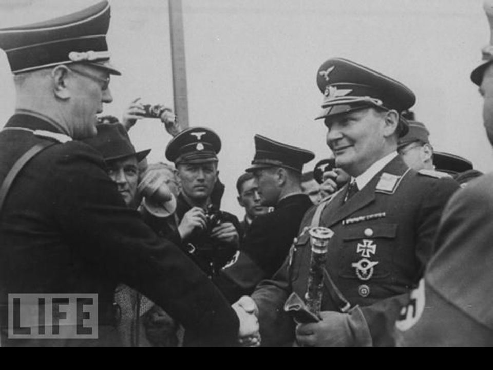 Arthur Seyss-Inquart With Hermann Goering, 1938