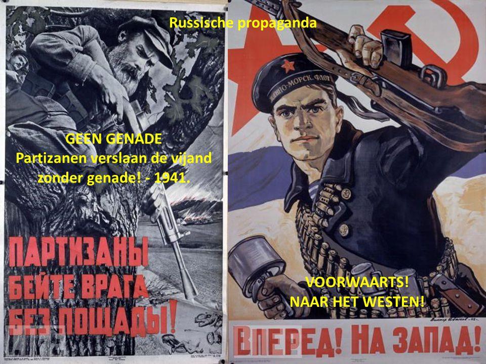 Partizanen verslaan de vijand zonder genade! - 1941.