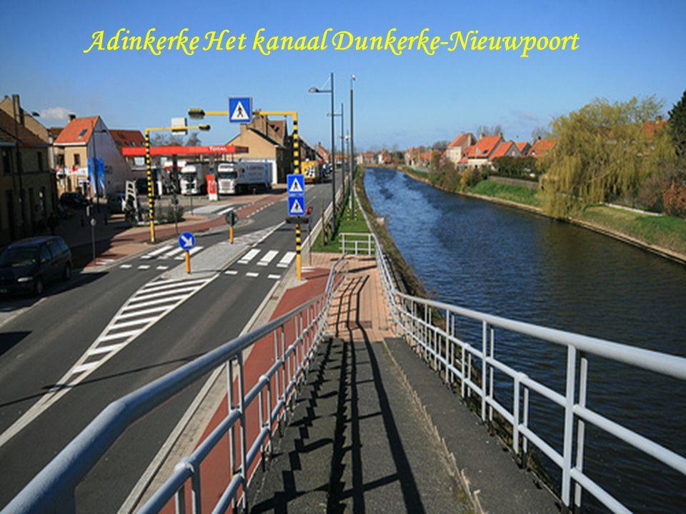 Adinkerke Het kanaal Dunkerke-Nieuwpoort