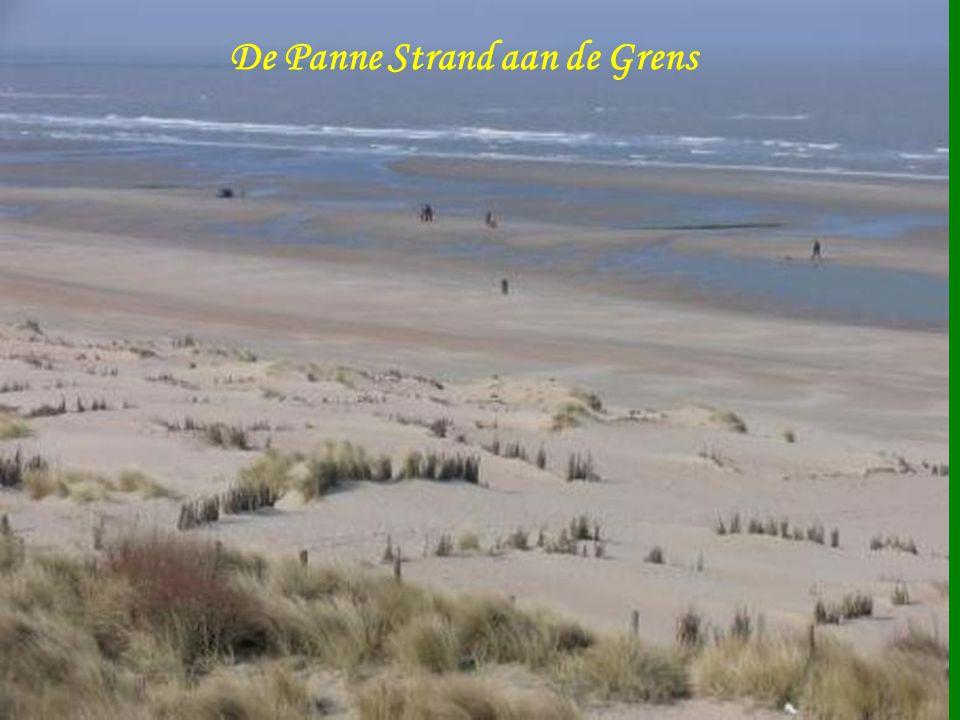 De Panne Strand aan de Grens