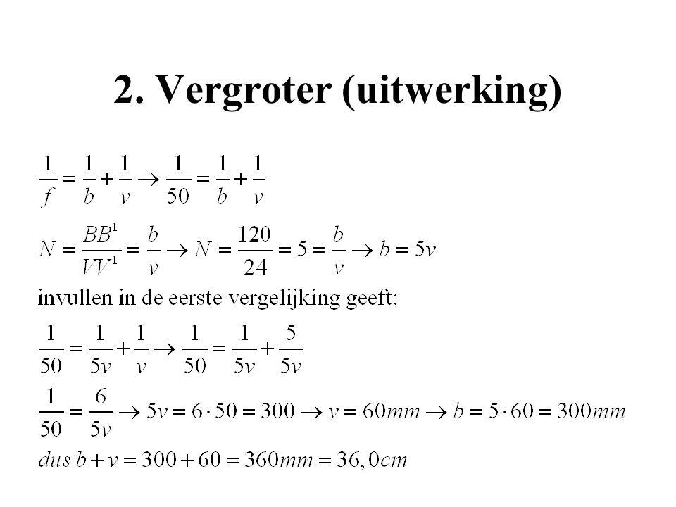 2. Vergroter (uitwerking)