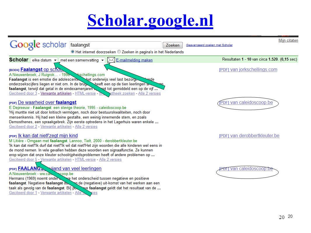 Scholar.google.nl 20