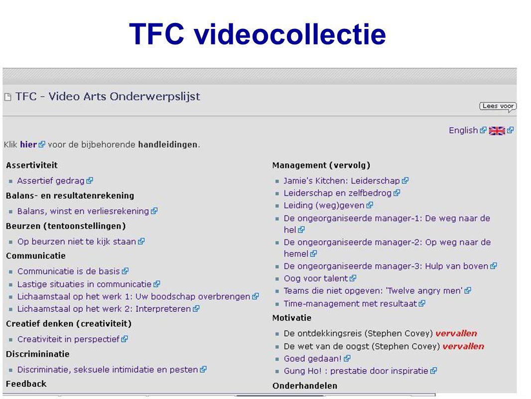 TFC videocollectie