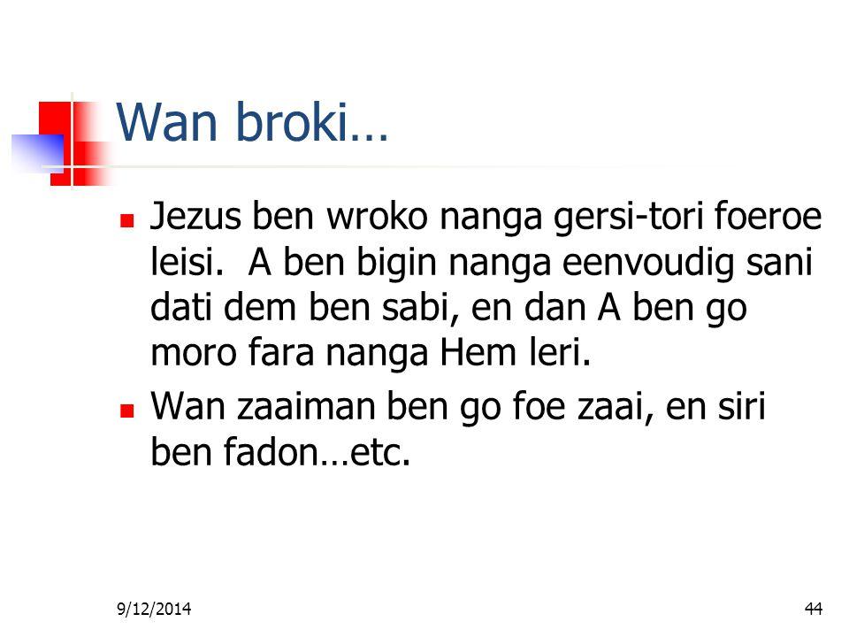 Fa foe Gi Wan Les Wan broki…
