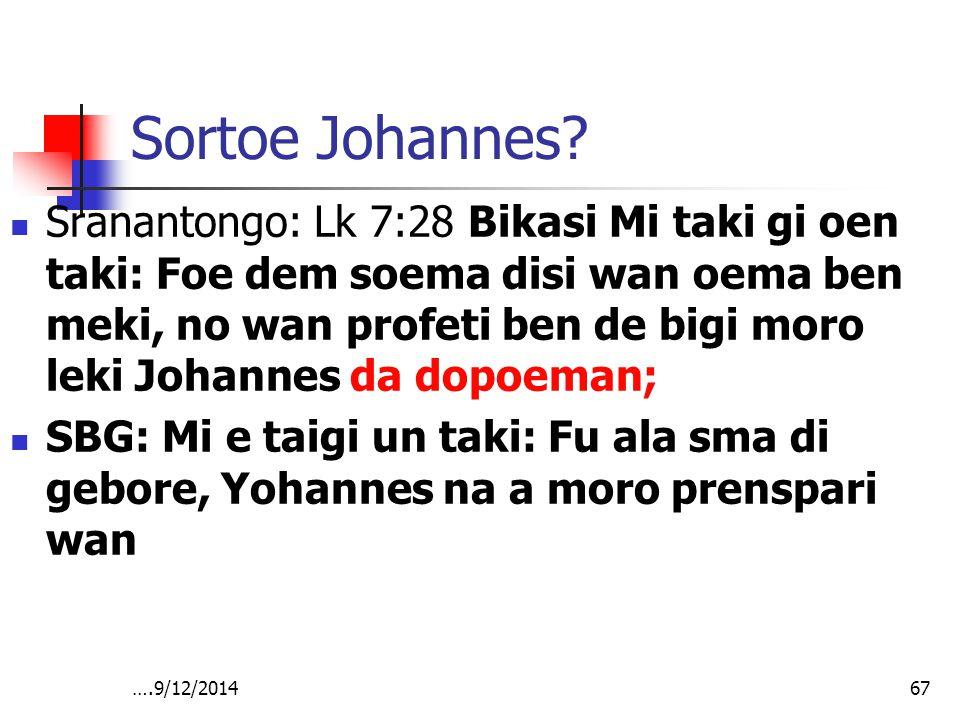 Sortoe Johannes