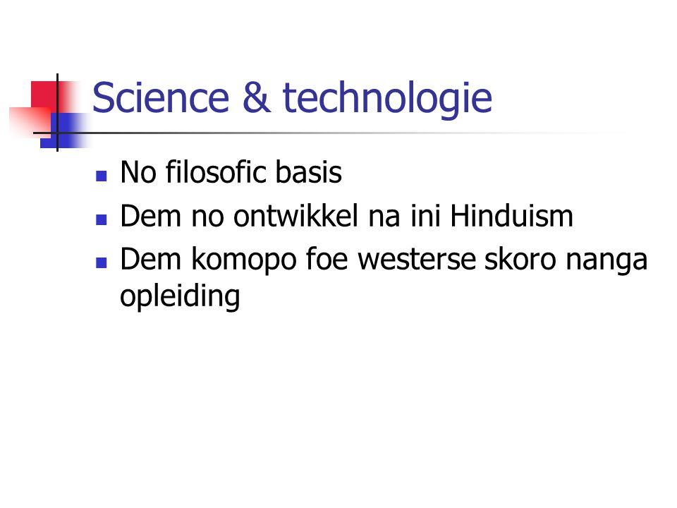 Science & technologie No filosofic basis