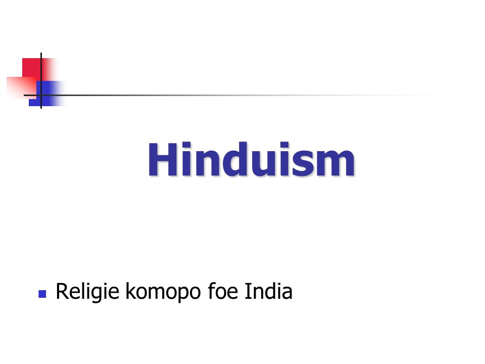 Hinduism Religie komopo foe India