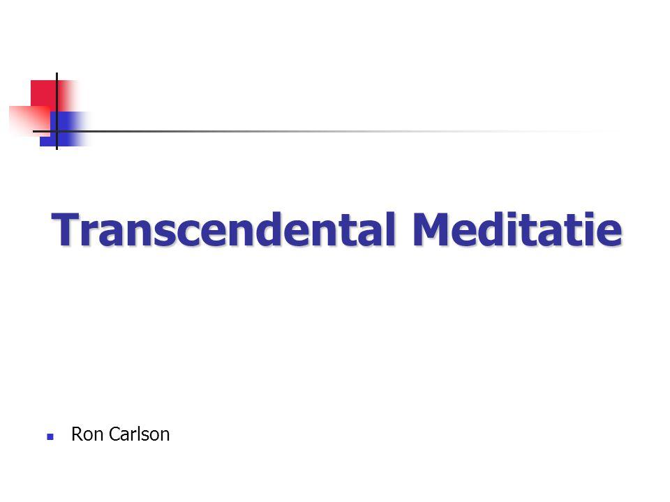 Transcendental Meditatie