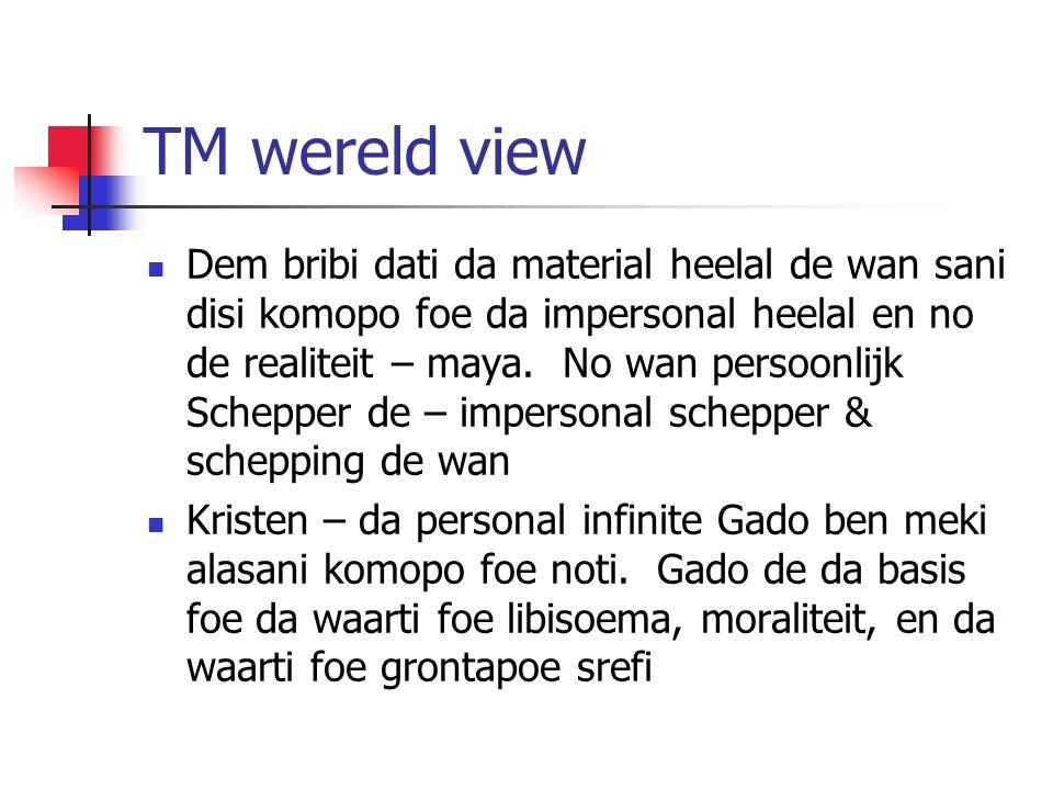 TM wereld view