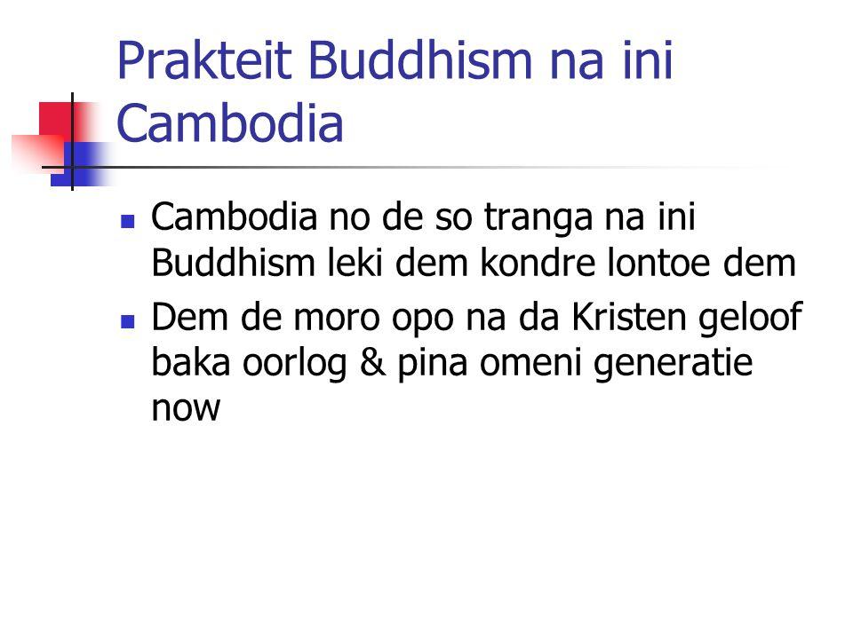 Prakteit Buddhism na ini Cambodia