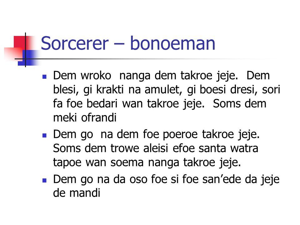 Sorcerer – bonoeman