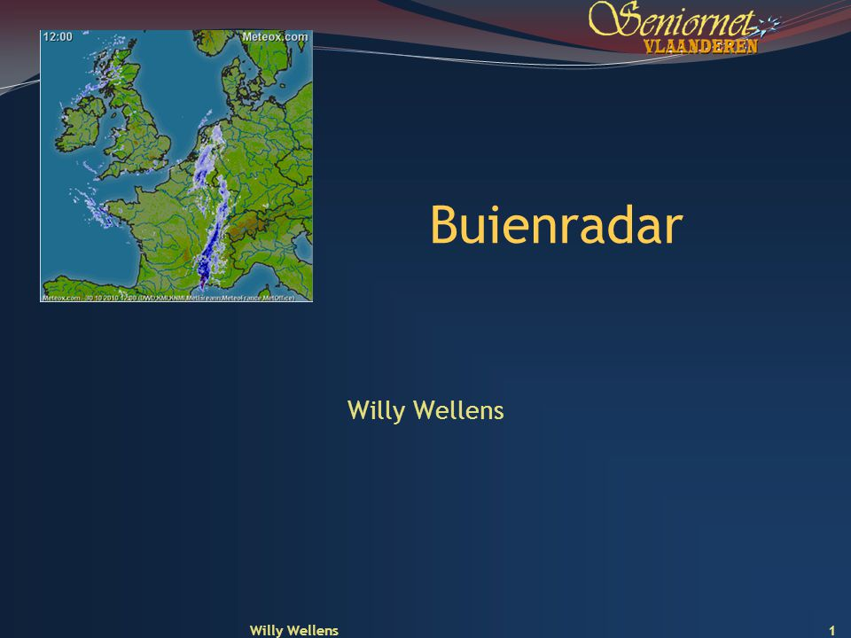 Buienradar Willy Wellens Willy Wellens