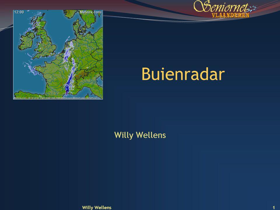 Buienradar Willy Wellens Willy Wellens