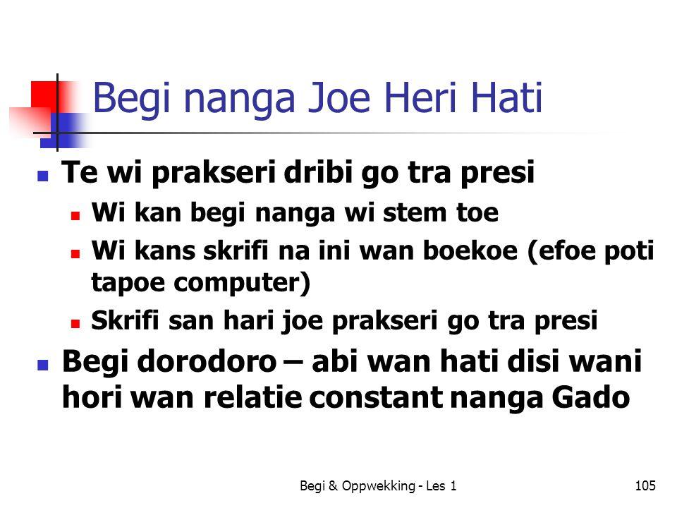 Begi nanga Joe Heri Hati