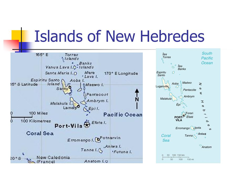 Islands of New Hebredes