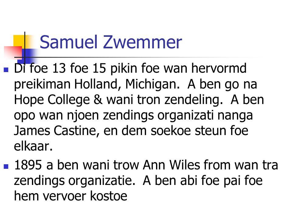 Samuel Zwemmer