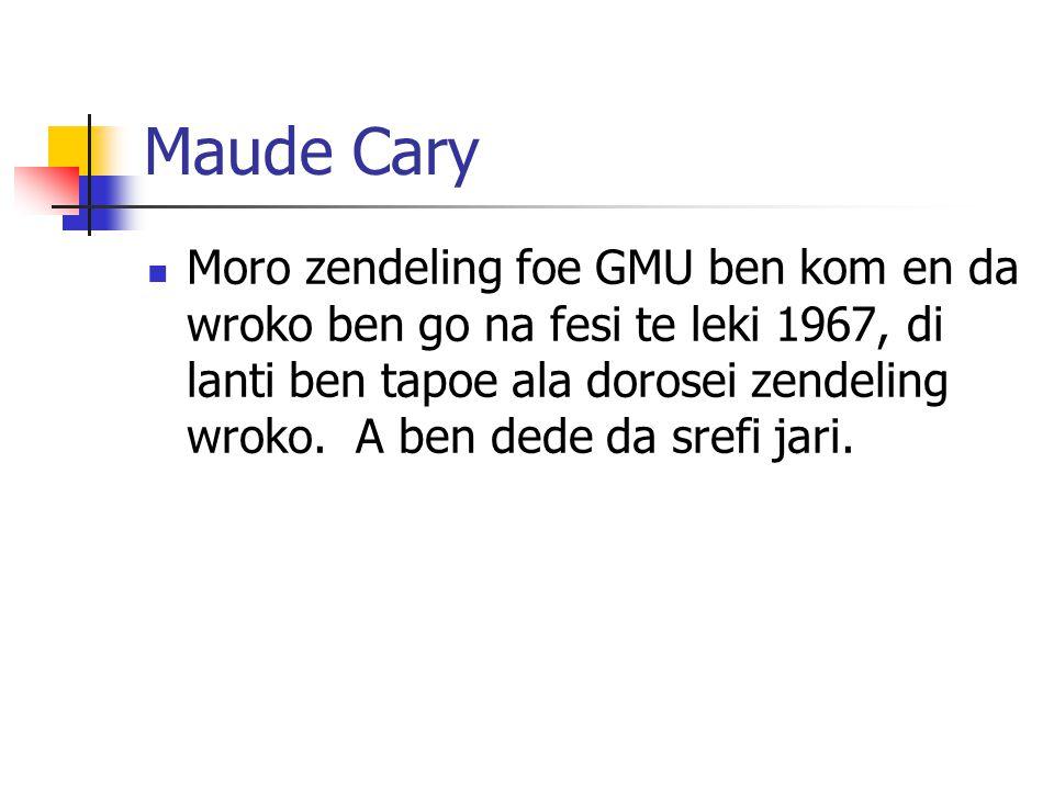 Maude Cary