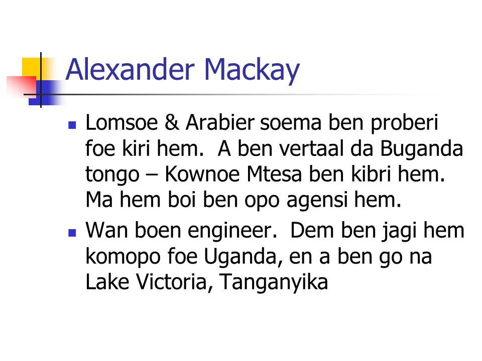 Alexander Mackay