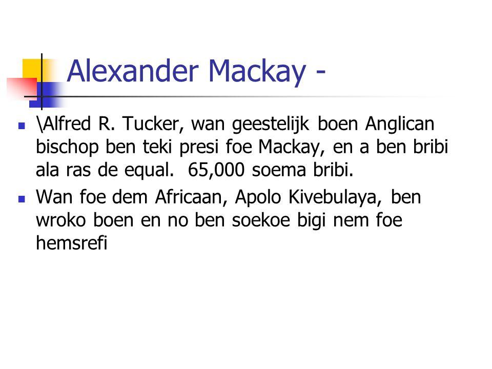 Alexander Mackay -