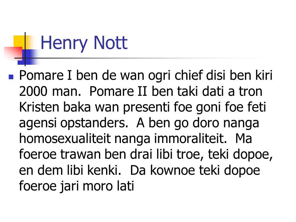 Henry Nott