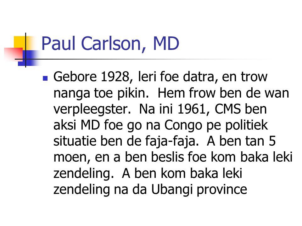 Paul Carlson, MD