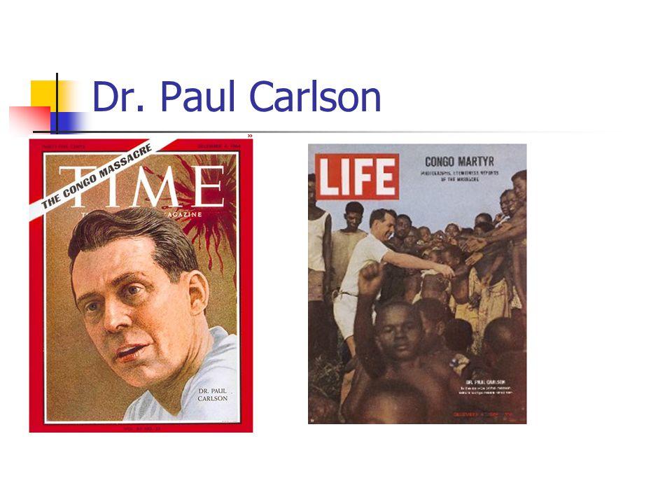 Dr. Paul Carlson