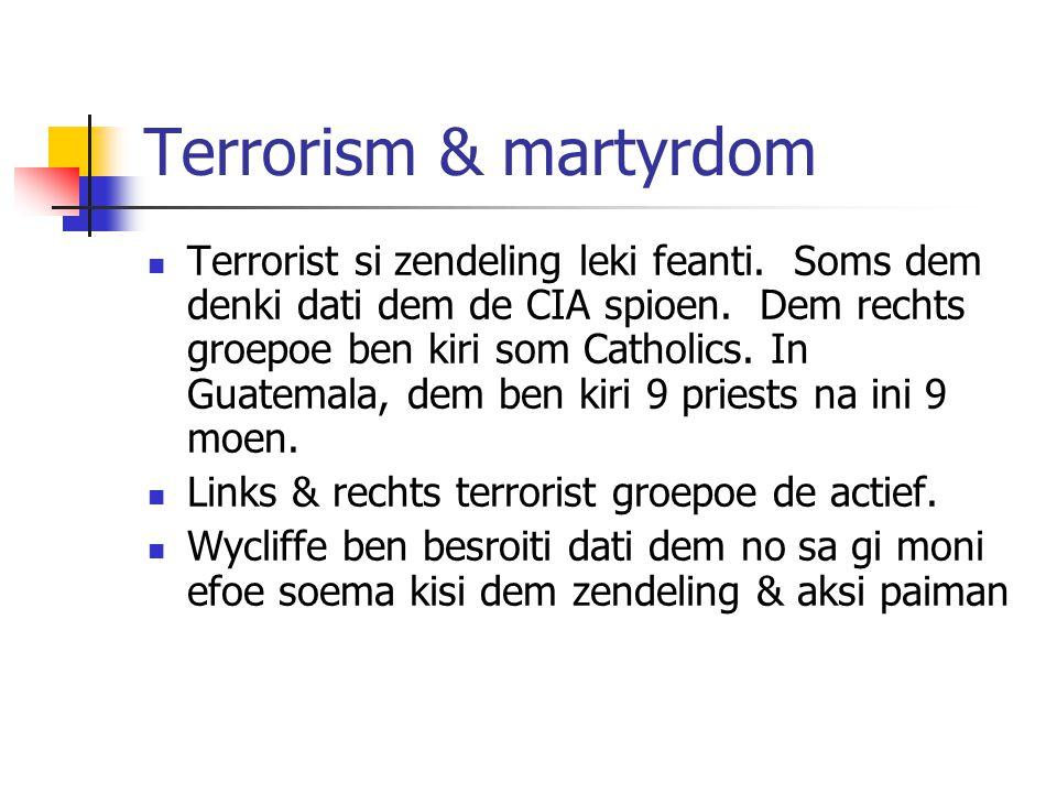 Module 9 Lesson 10 Terrorism & martyrdom.