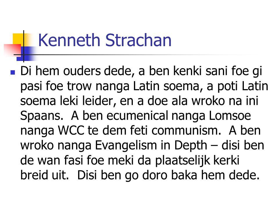 Kenneth Strachan