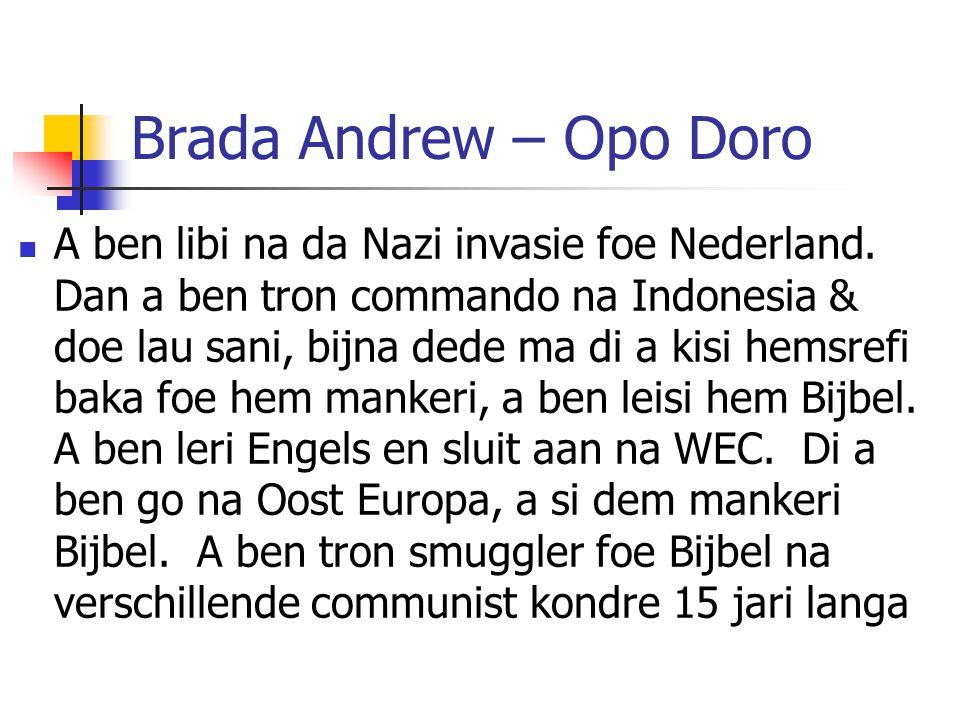 Brada Andrew – Opo Doro