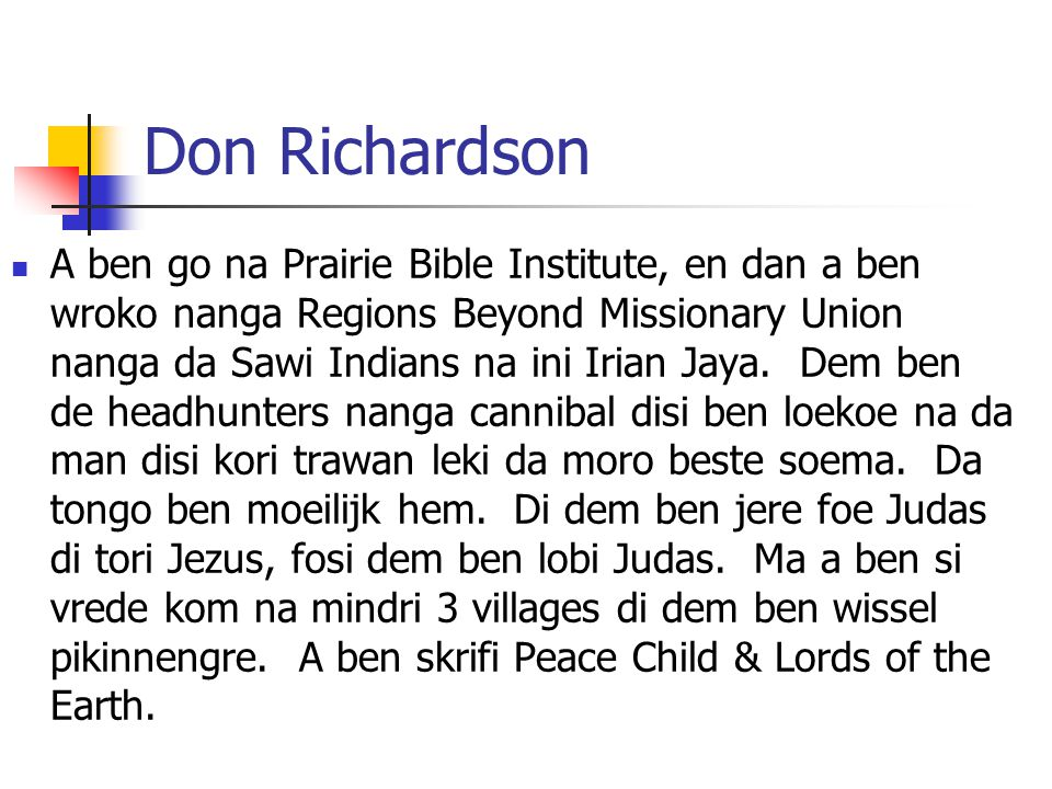 Don Richardson
