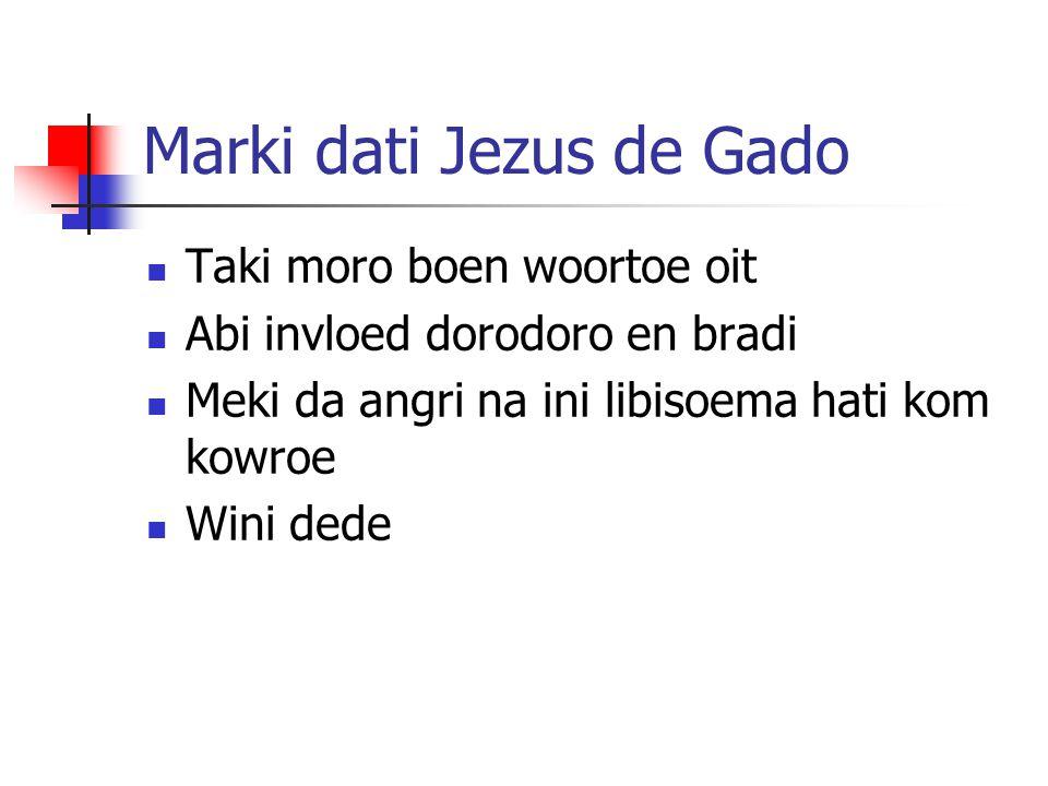 Marki dati Jezus de Gado