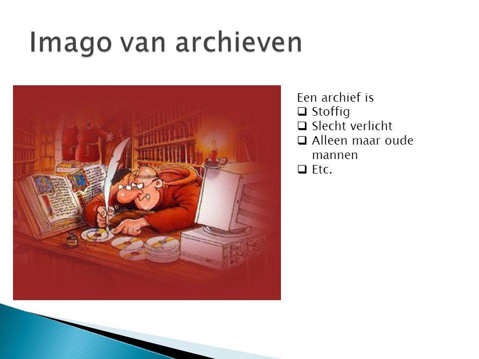 Imago van archieven Een archief is Stoffig Slecht verlicht