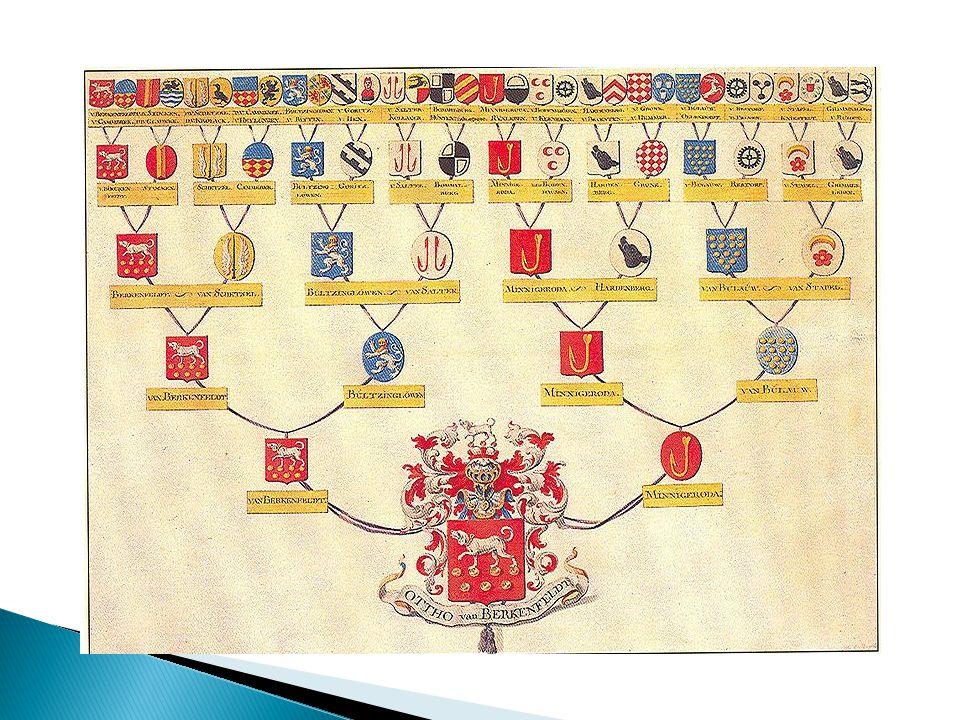 De gesloten kaste van edelen accepteerden geen ridders of huwelijkspartners met een ouder of grootouder die niet van adel was.