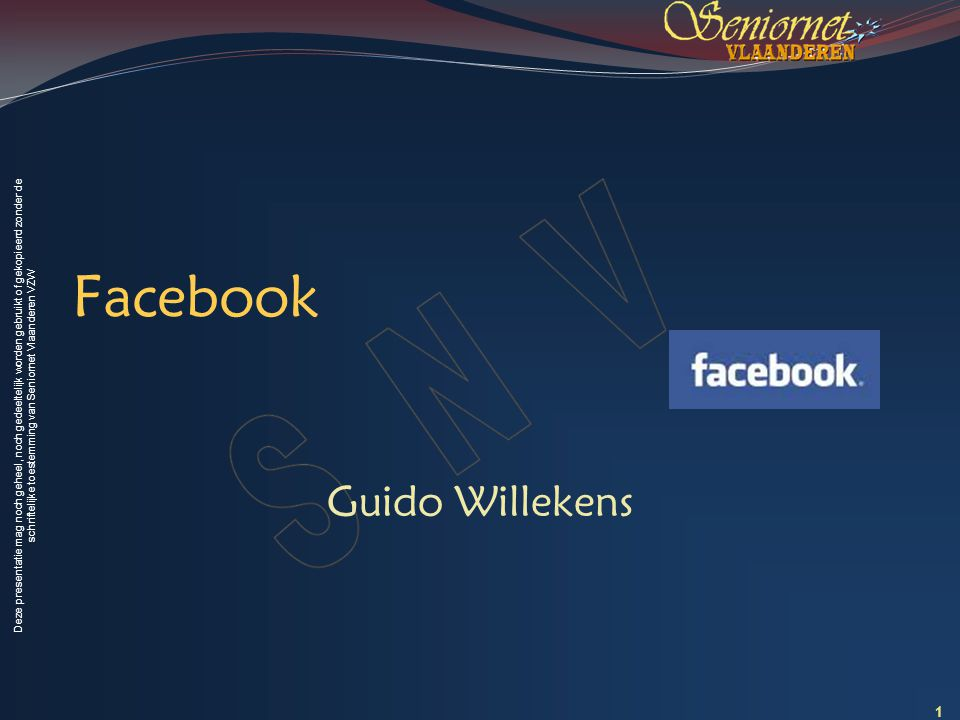 Facebook Guido Willekens 1