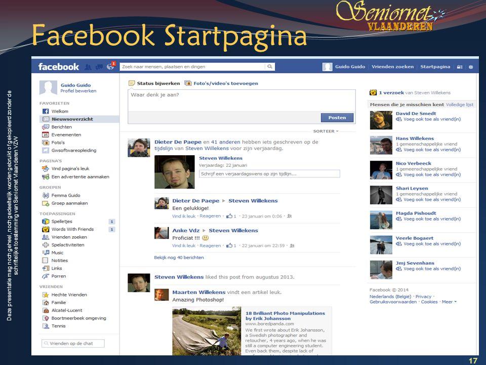 Facebook Startpagina 17