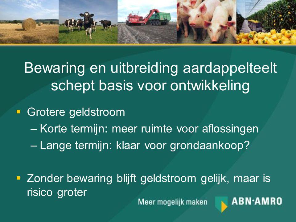 Bewaring en uitbreiding aardappelteelt schept basis voor ontwikkeling