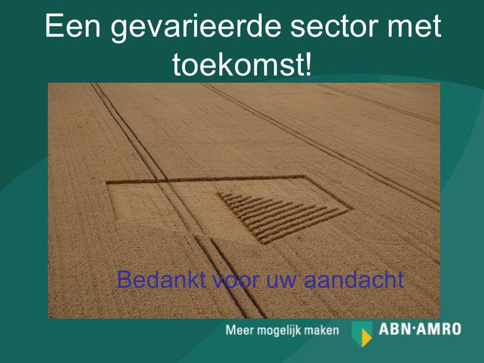 Een gevarieerde sector met toekomst!