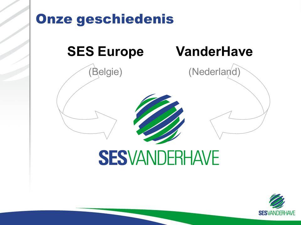 Onze geschiedenis SES Europe VanderHave (Belgie) (Nederland) MAR