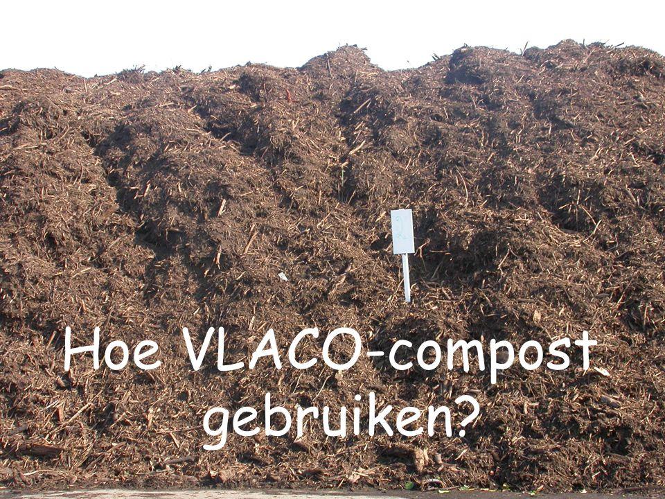Hoe VLACO-compost gebruiken