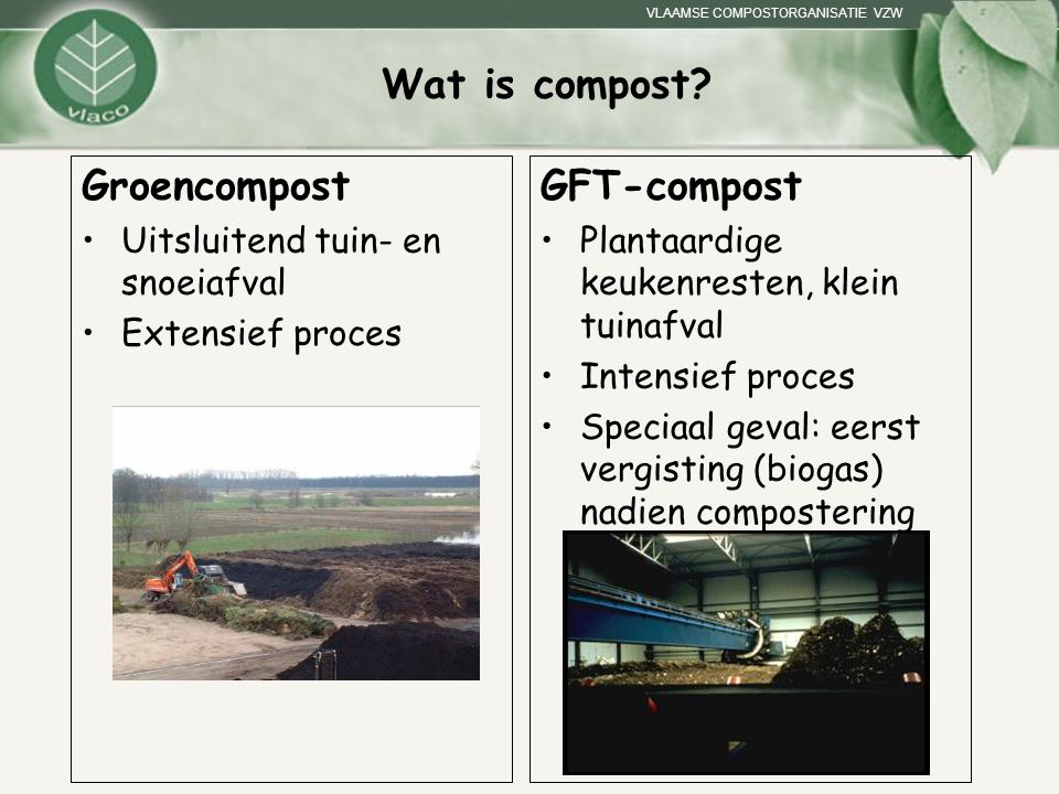 Wat is compost Groencompost GFT-compost