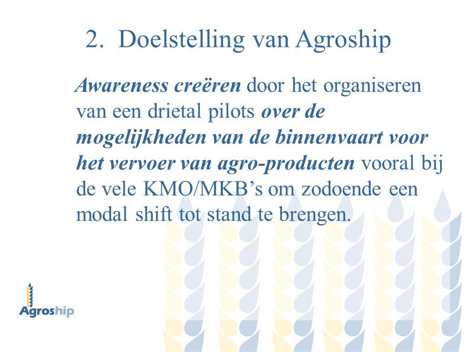 2. Doelstelling van Agroship